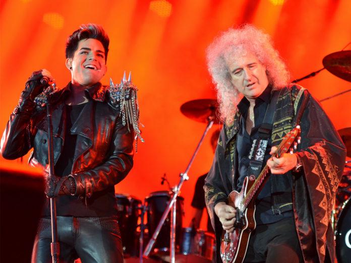 Queen Adam Lambert Fire Fight Australia