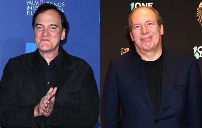 Quentin Tarantino and Hans Zimmer