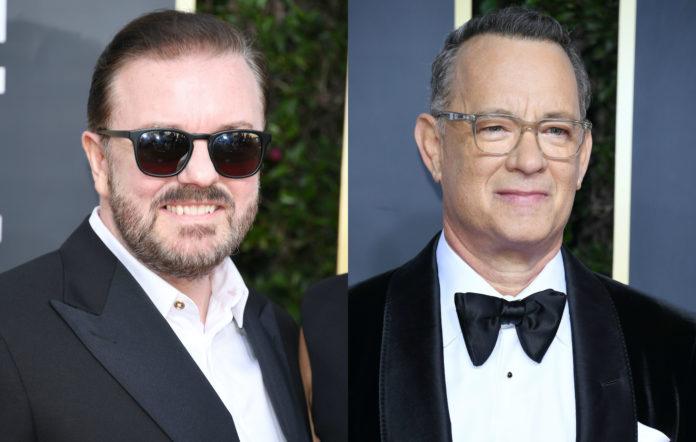 Ricky Gervais Tom Hanks Golden Globes
