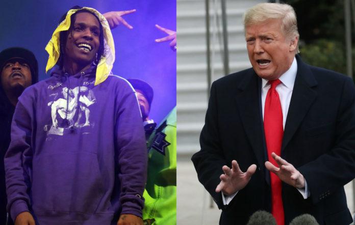 A$AP Rocky / Donald Trump
