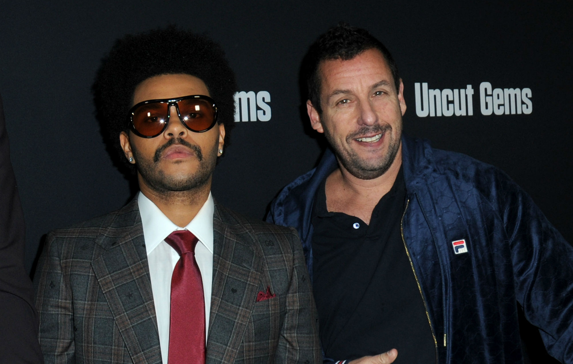 The Weeknd and Adam Sandler
