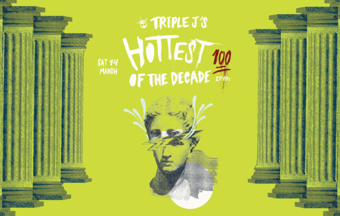 Voting for triple j hottest 100 of the decade countdown begins next week