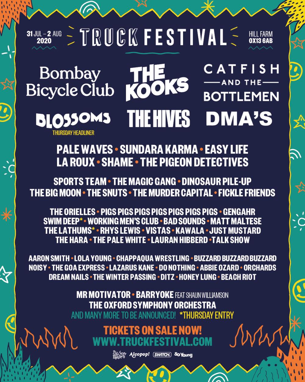 Truck Festival 2020 line-up