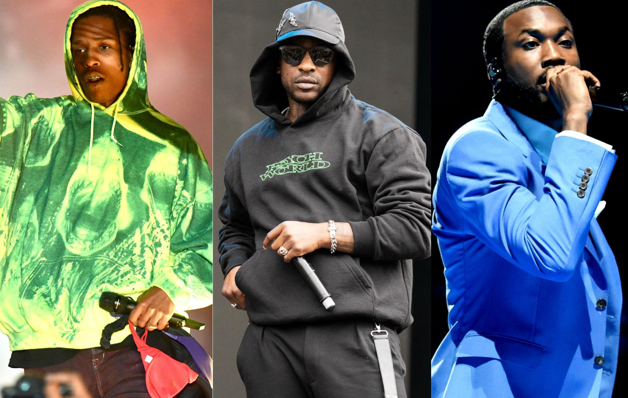 A$AP Rocky, Skepta and Meek Mill to headline Wireless Festival 2020