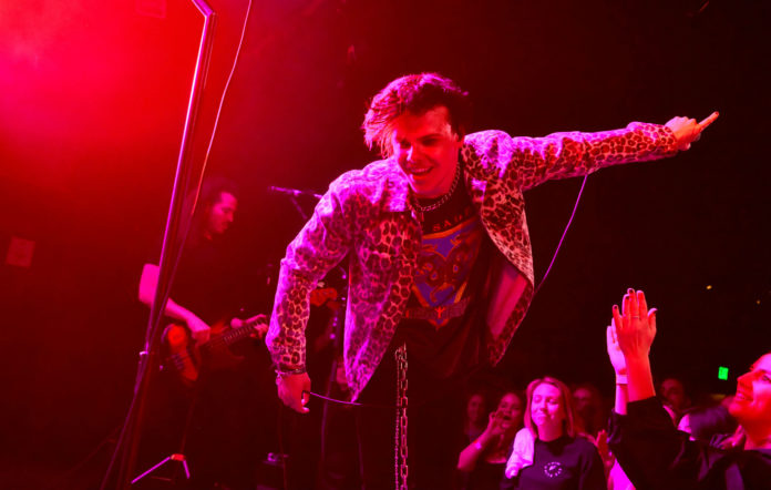 Yungblud performs onstage with Third Eye Blind