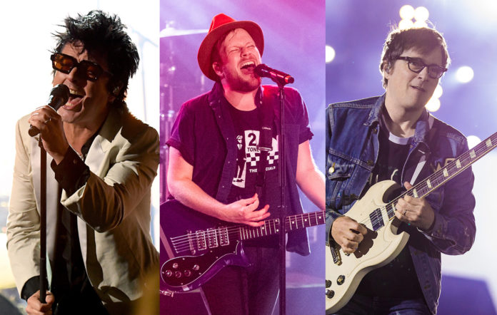 Green Day Fall Out Boy Weezer