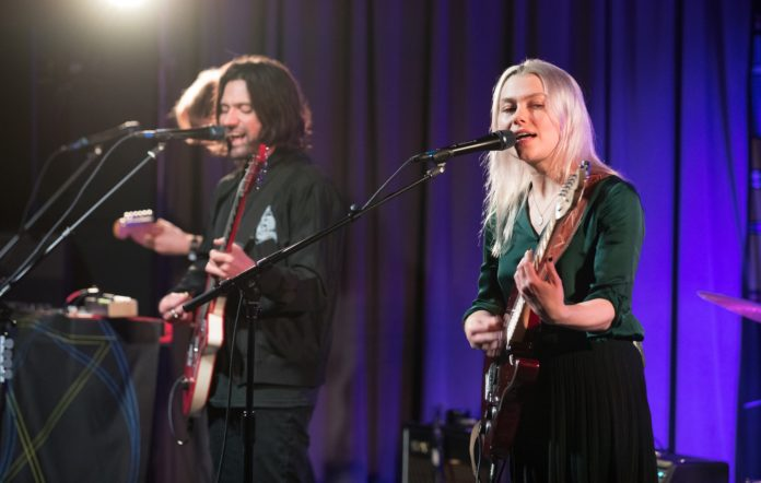 Conor Oberst and Phoebe Bridgers of Better Oblivion