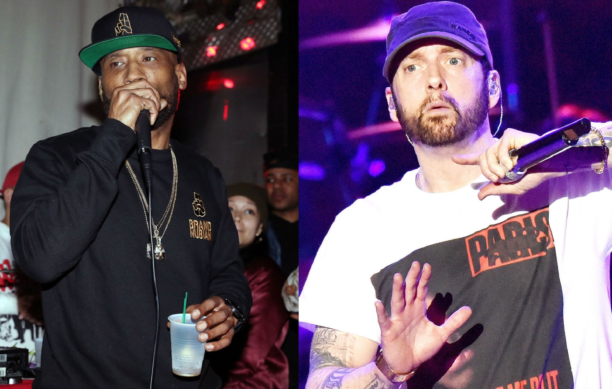 """Lord Jamar hits back at Eminem over his response to claims white rappers are """"guests"""" in hip-hop"""
