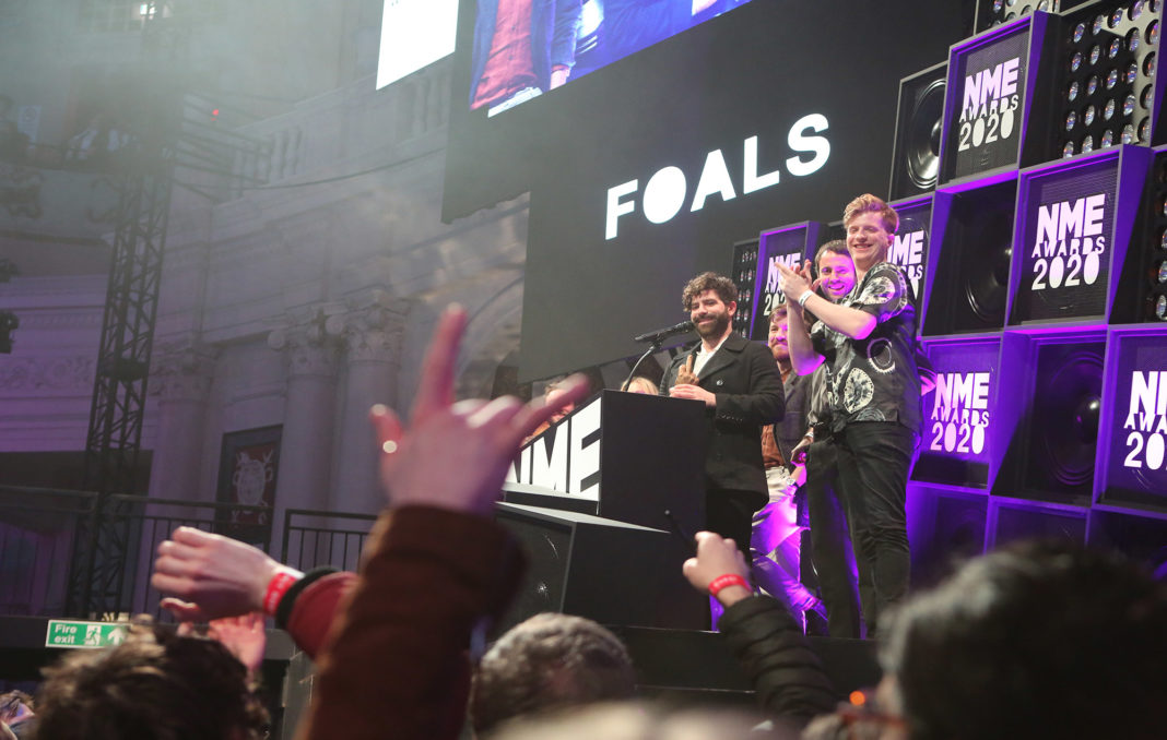 Foals, NME Awards 2020