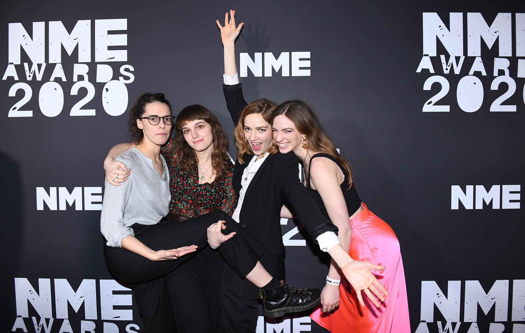 The Big Moon NME Awards 2020