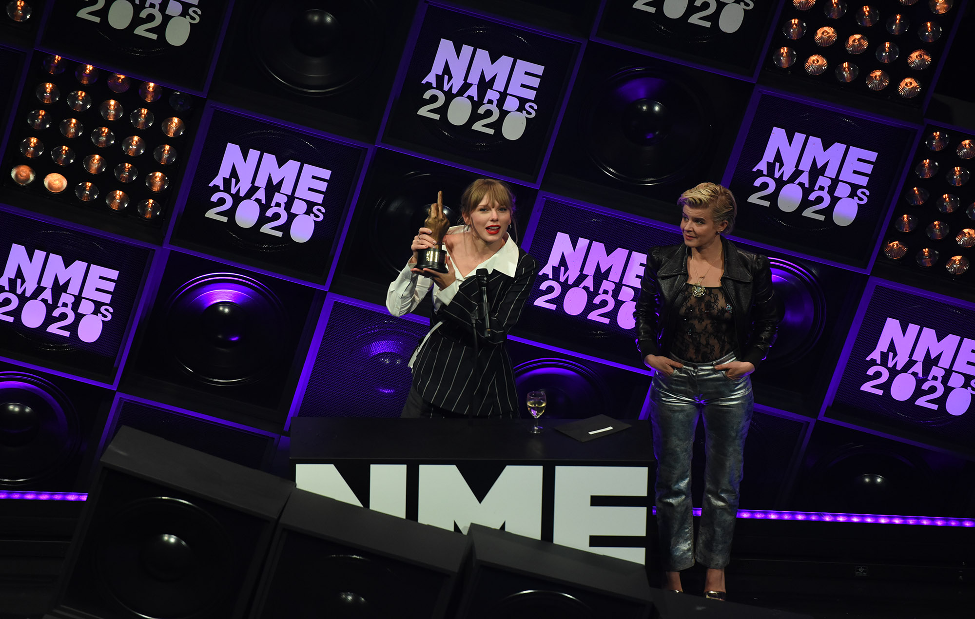 Taylor Swift at the NME Awards 2020