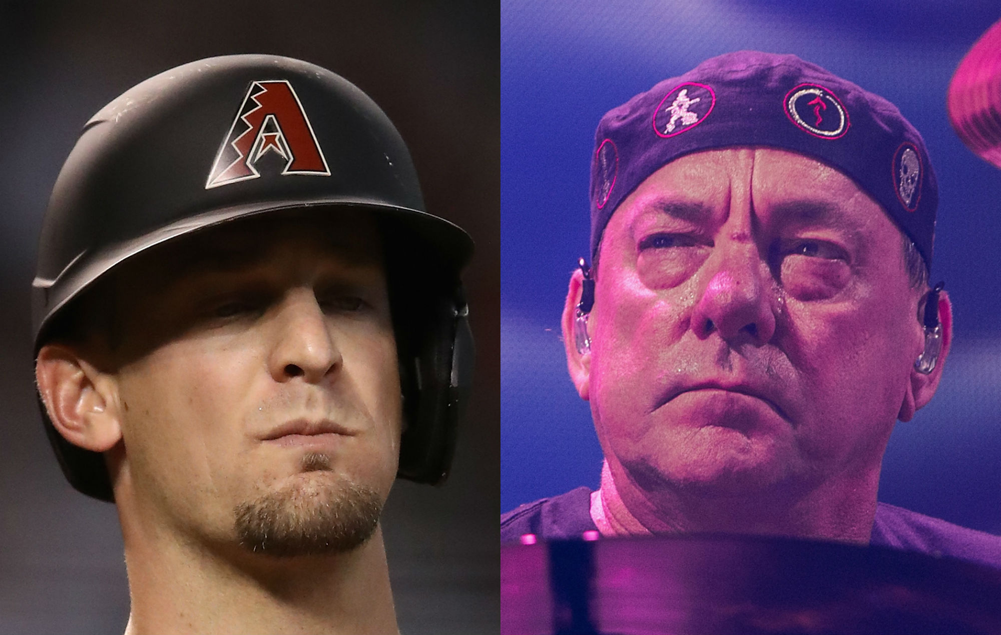 Toronto Blue Jays catcher pays air-drumming tribute to Neil Peart