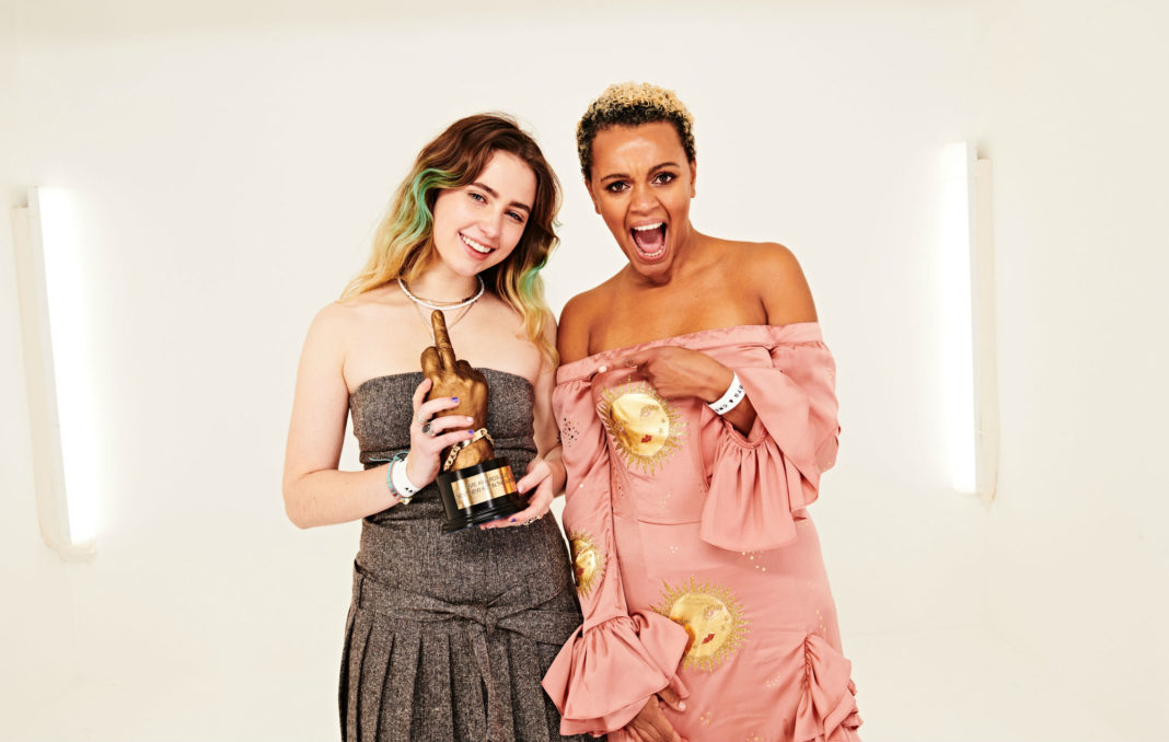 Clairo and Gemma Cairney at the NME Awards 2020