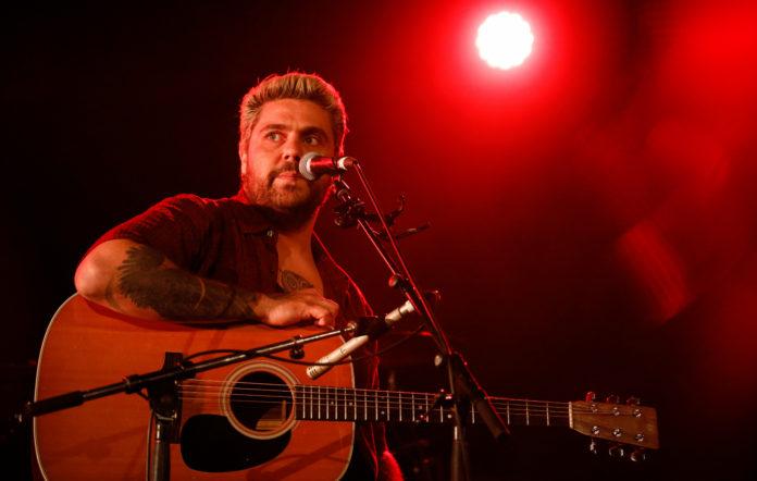 Dan Sultan performs at a Sydney Bushfire Appeal last month.