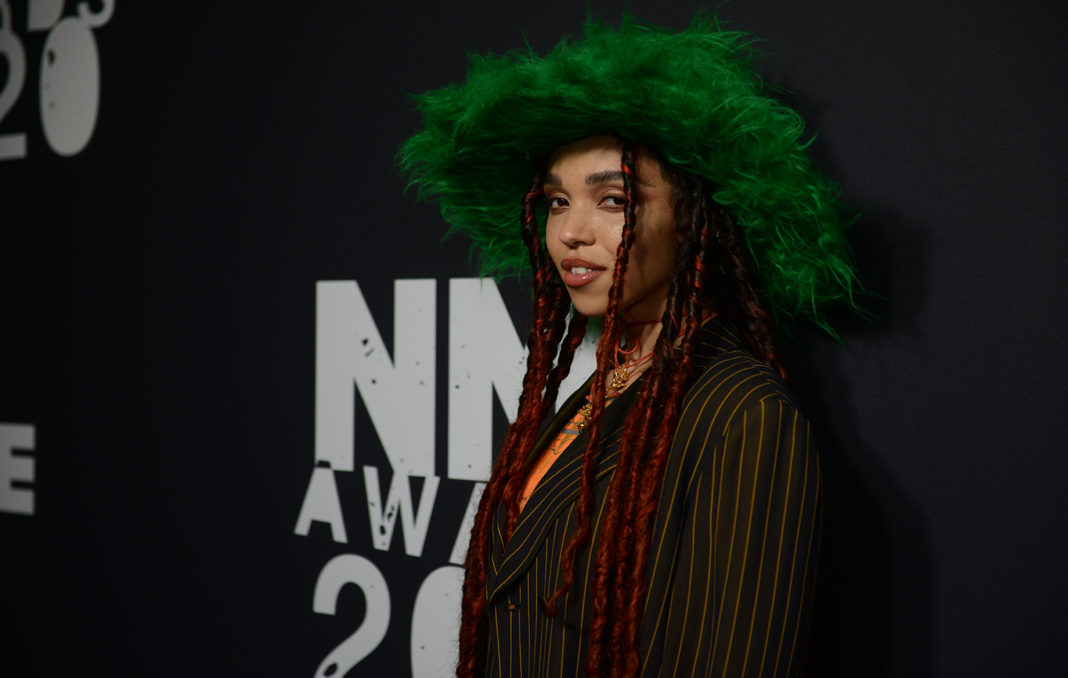 Fka Twigs arrives at the NME Awards 2020