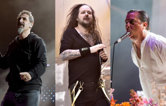 System Of A Down Korn Faith No More
