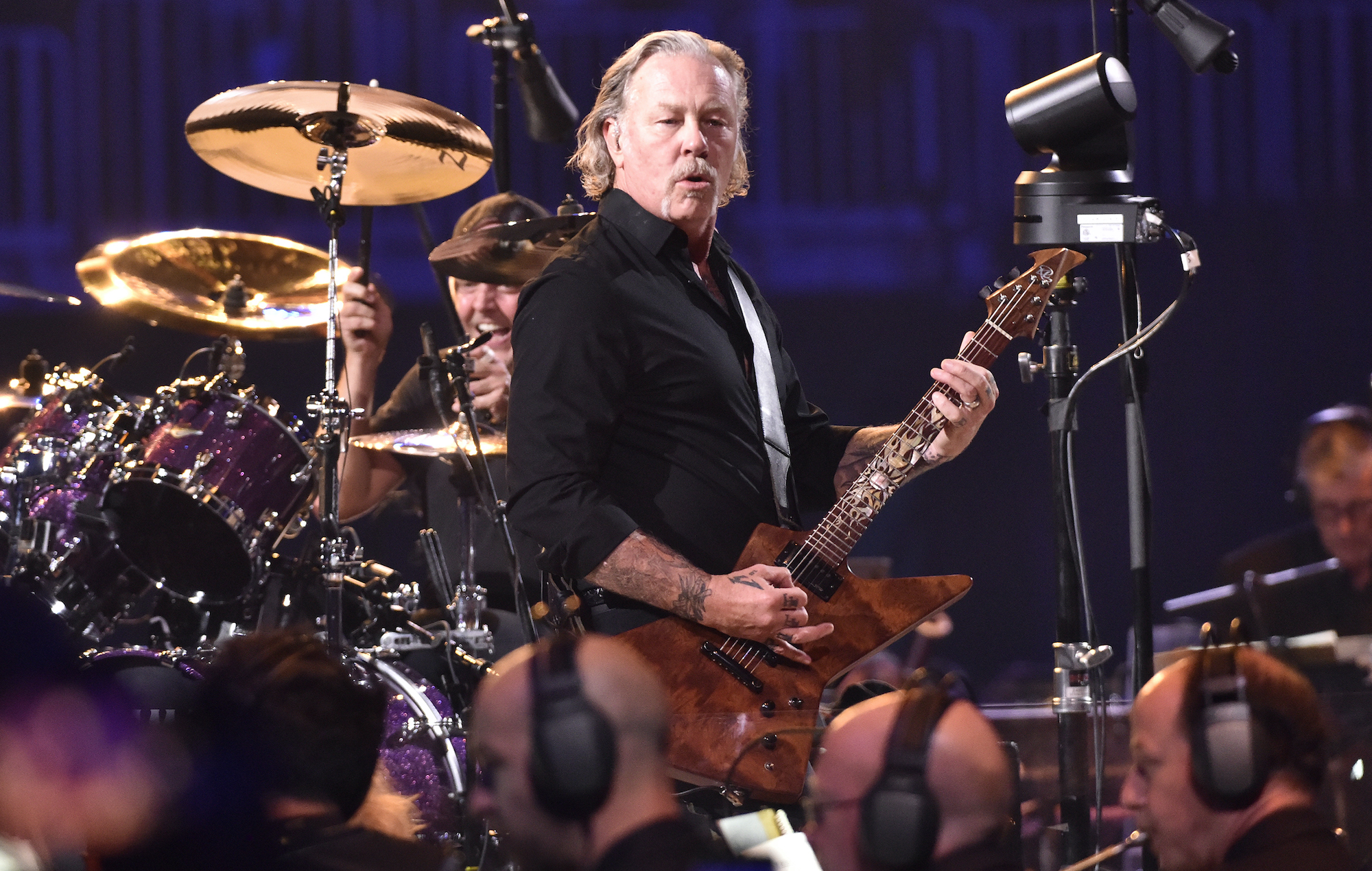 Metallica cancel festival dates to support James Hetfield's recovery