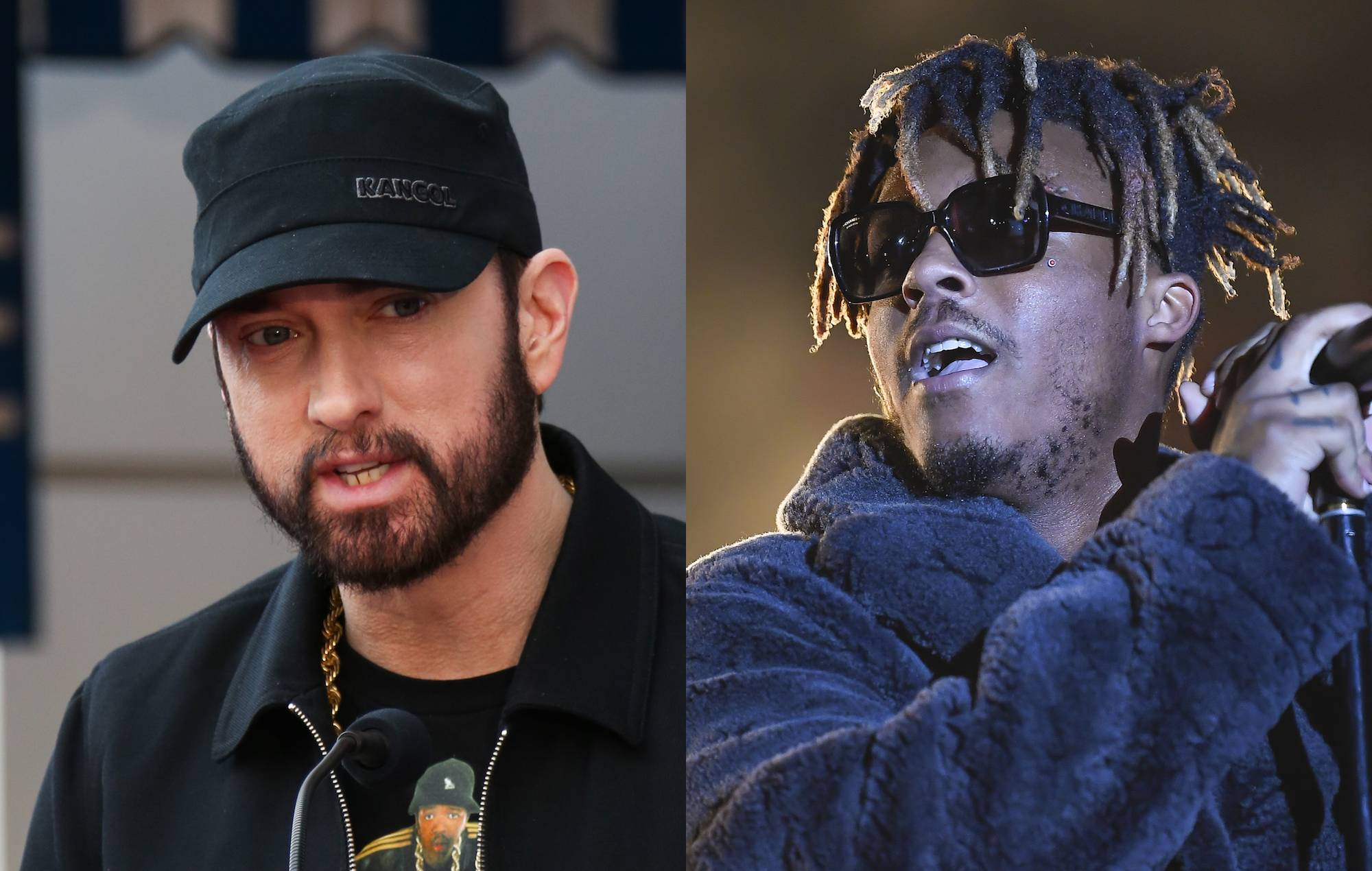 """Eminem remembers Juice WRLD: """"His potential was so off the charts"""""""