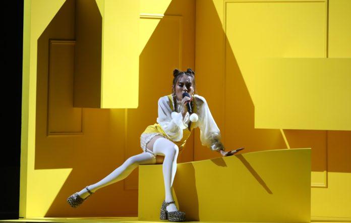 Jaguar Jonze reveals Eurovision injury