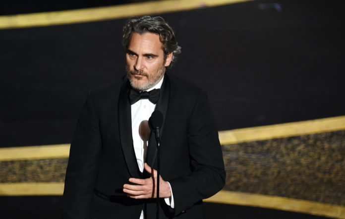 Joaquin Phoenix Oscars 2020