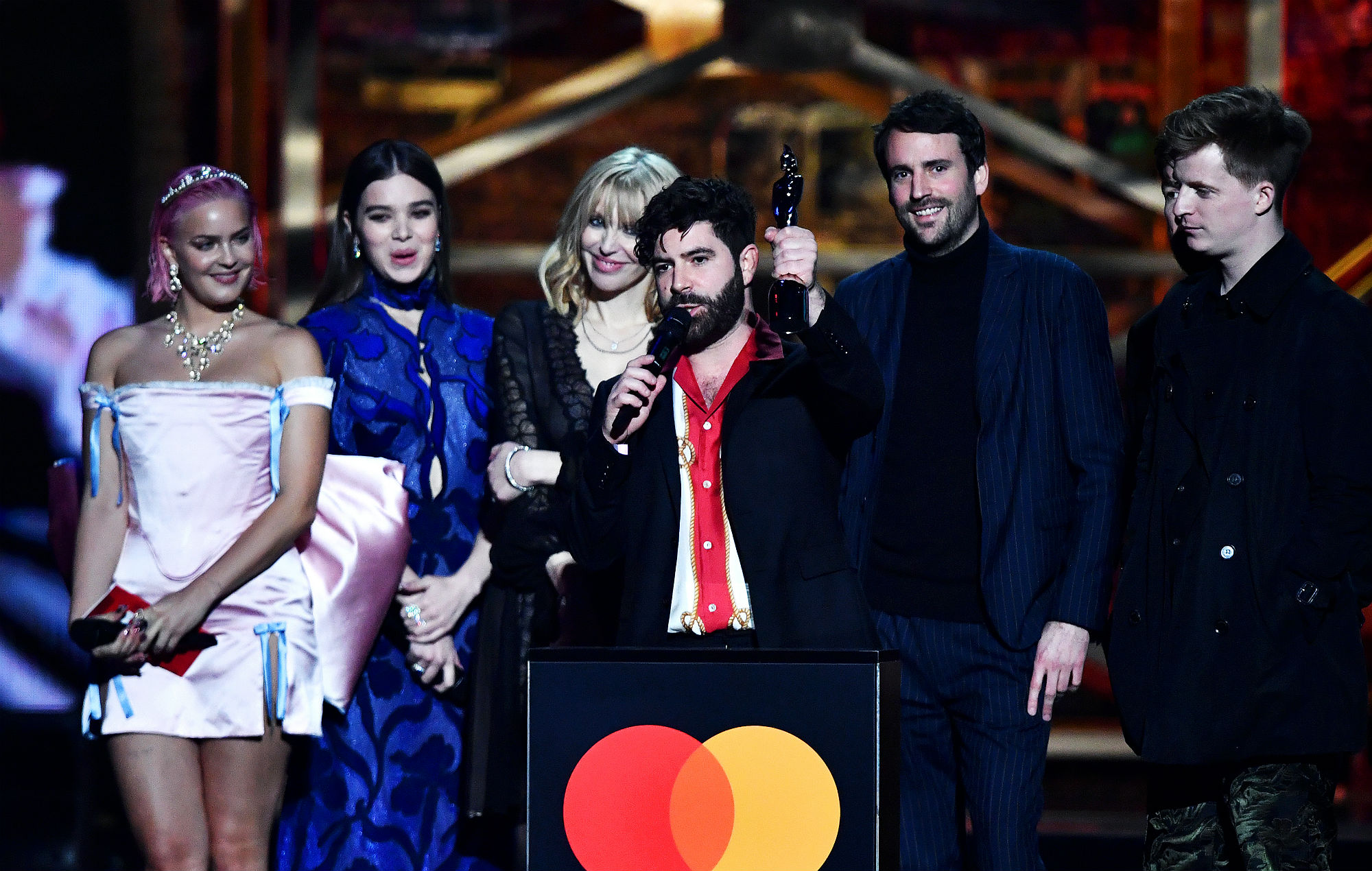 Image result for foals brit awards 2020