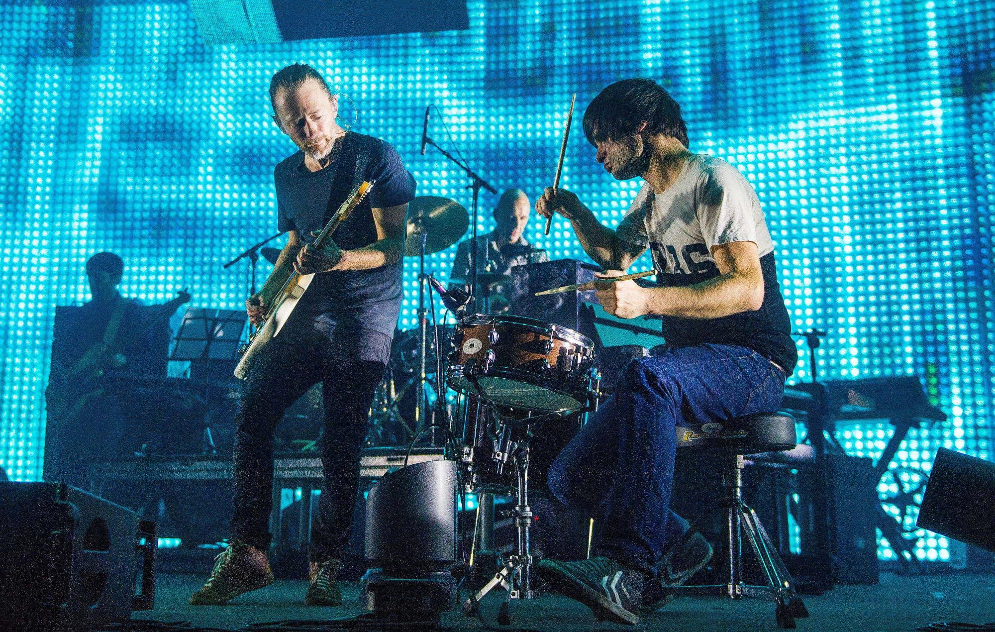 """Radiohead's Colin Greenwood says his """"heart sinks"""" at reality of post-Brexit touring"""