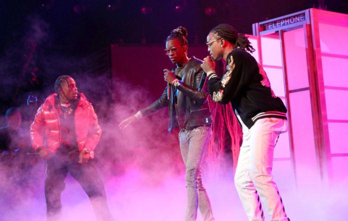 Travis Scott, Young Thug and Migos' Quavo