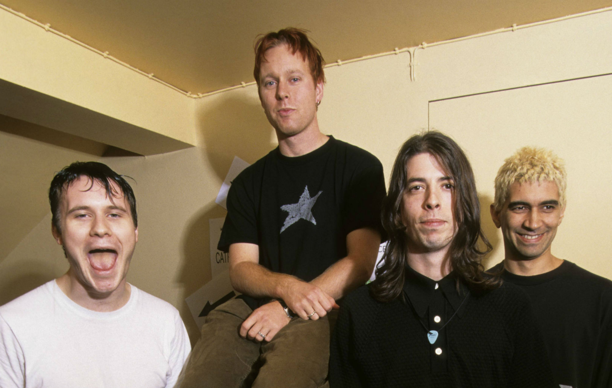 Foo Fighters mark 25th anniversary of their first gig with throwback photo