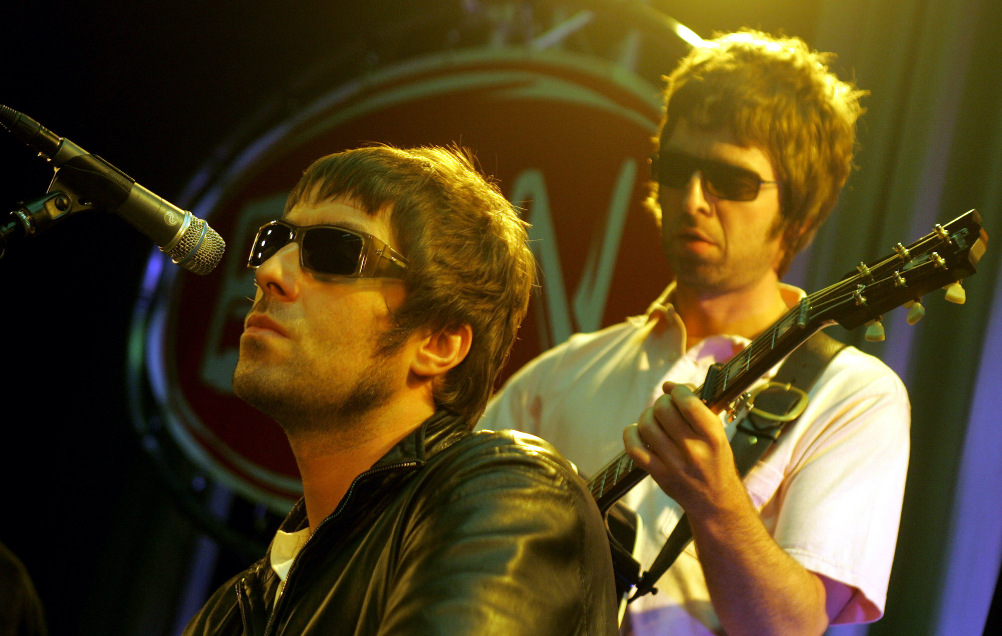 Oasis Liam Gallagher Noel Gallagher