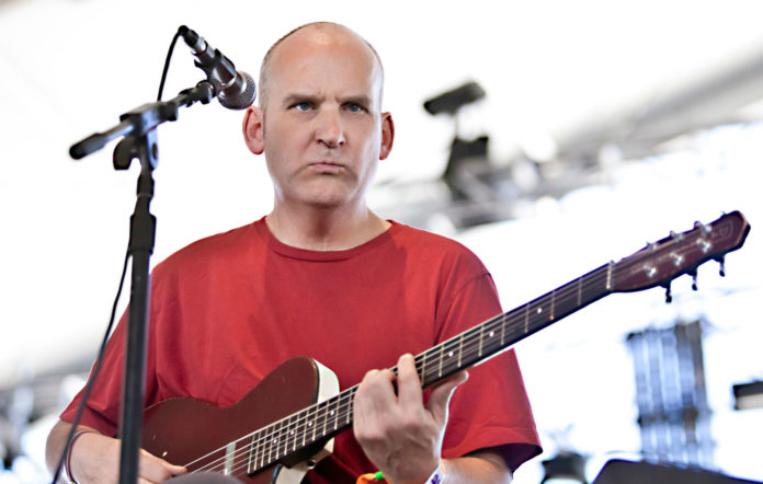 Ian MacKaye of The Evans performs at the 2013 Coachella Valley Music And Arts Festival