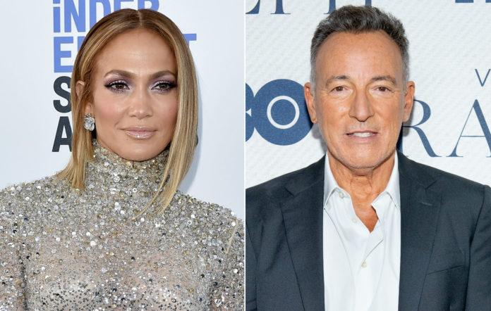 Jennifer Lopez; Bruce Springsteen