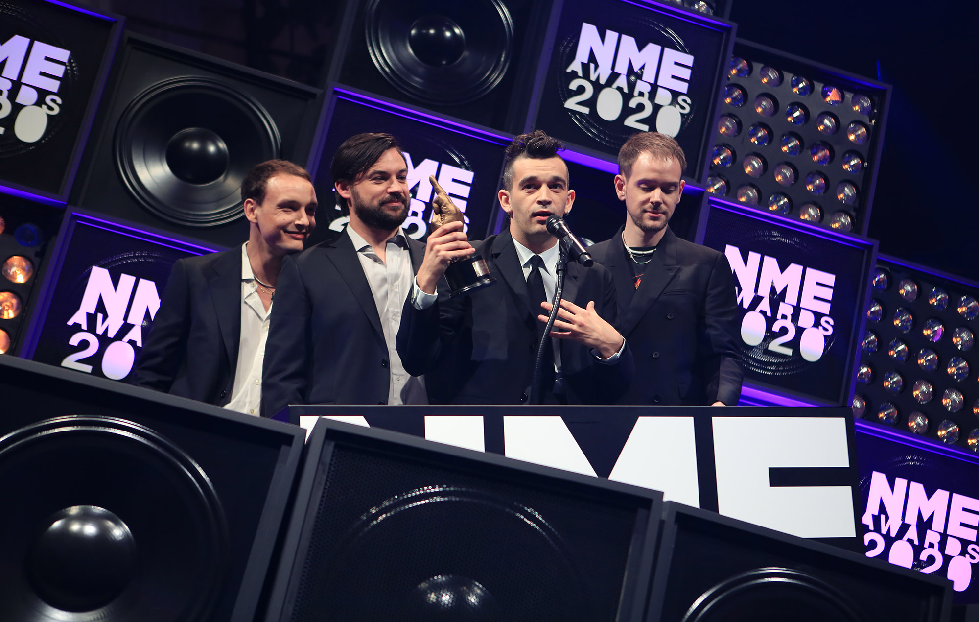 The 1975, NME Awards 2020