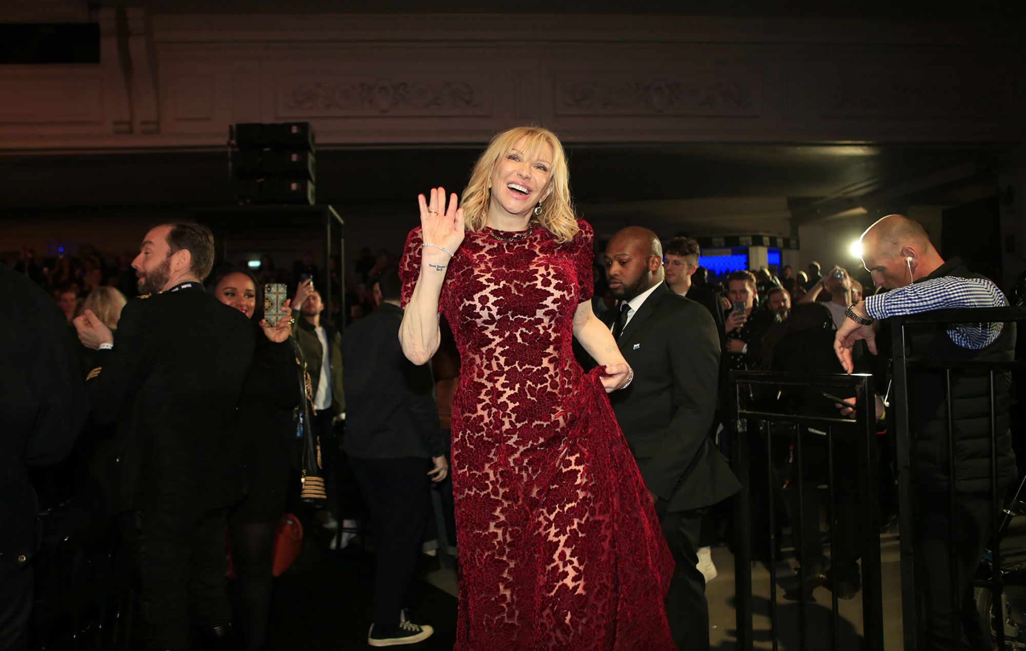 Courtney Love at the NME Awards 2020
