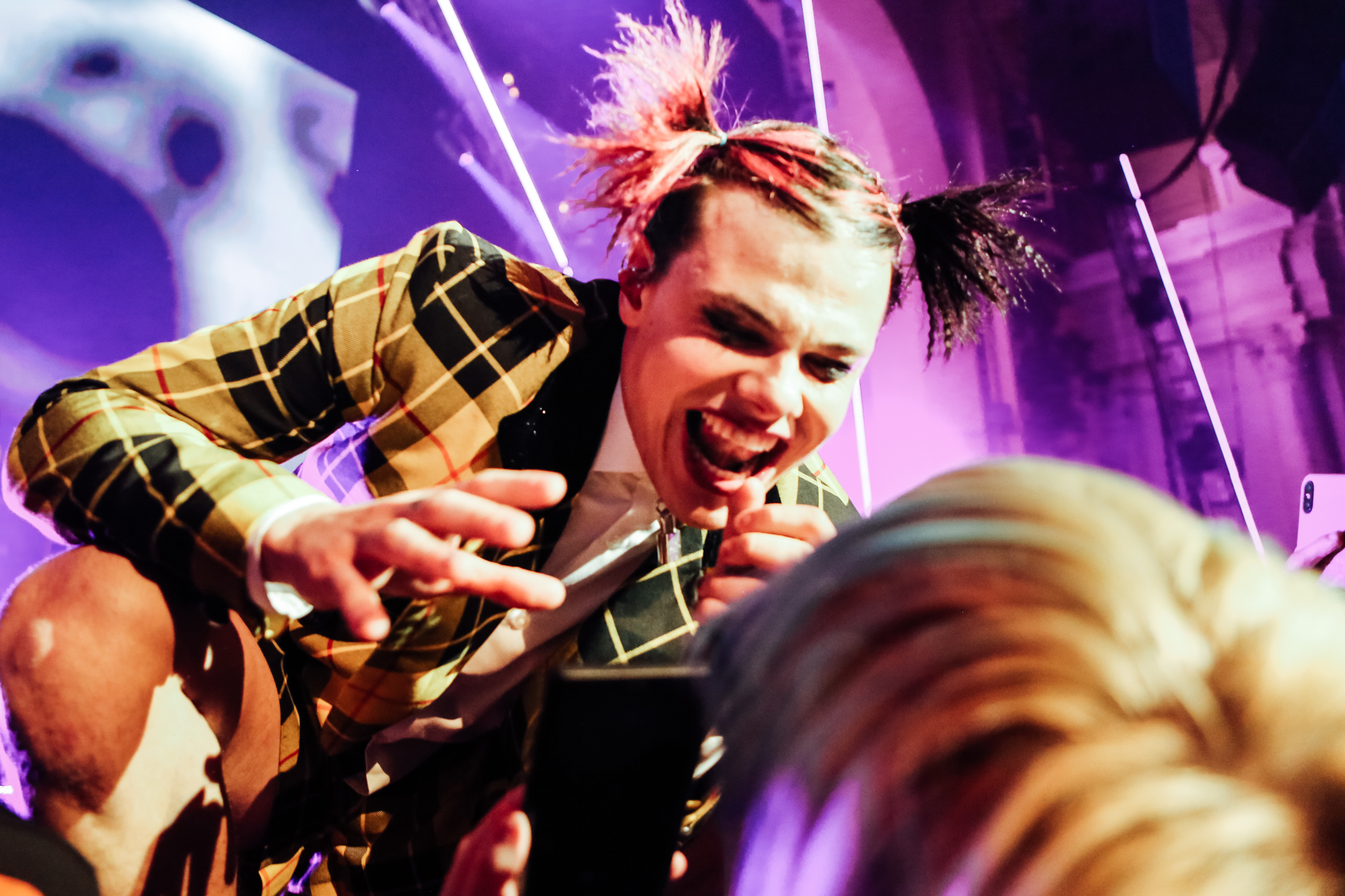 Yungblud at the NME Awards