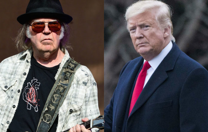 Neil Young; Donald Trump