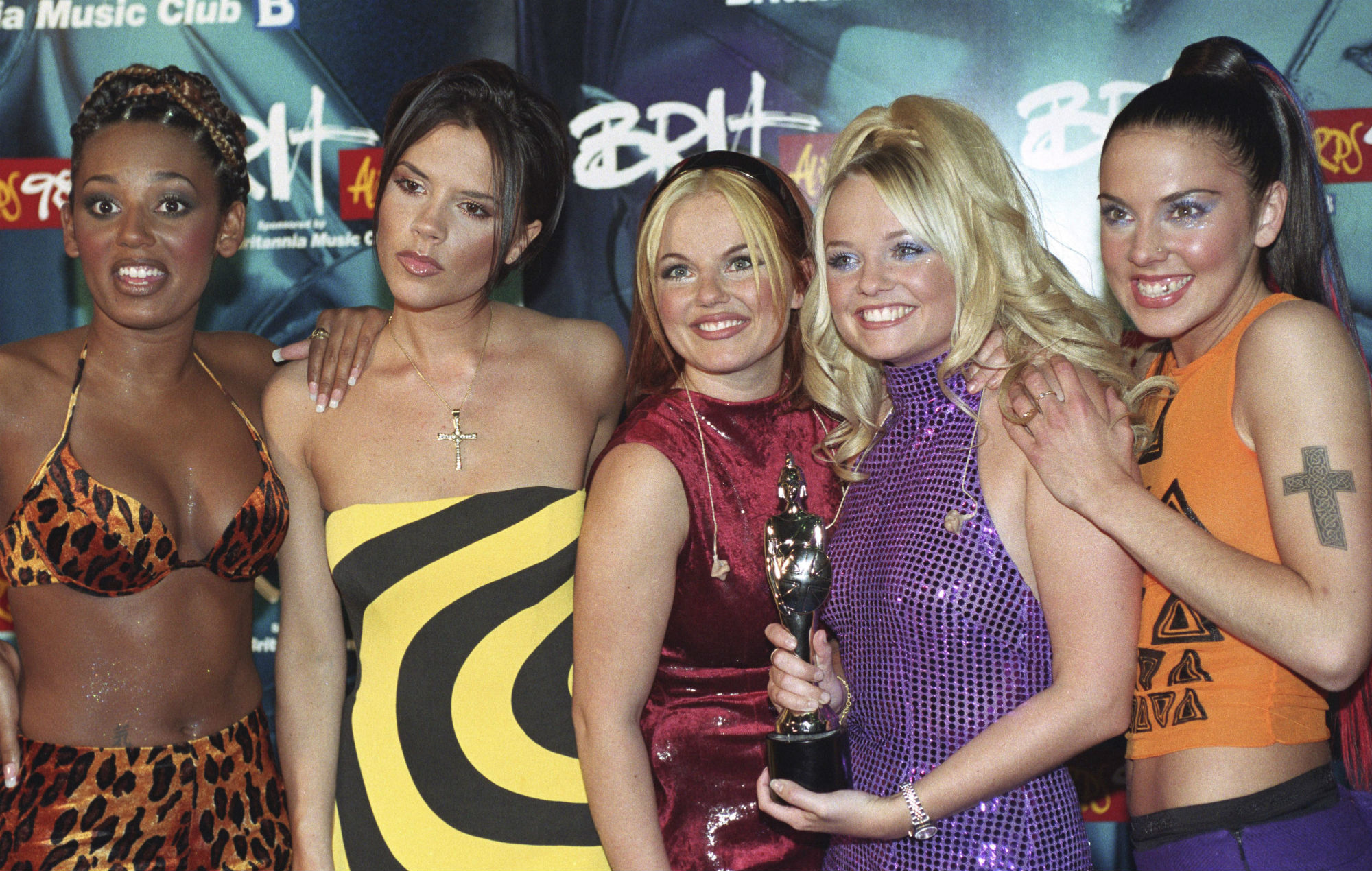 Spice Girls Brit Awards 1998