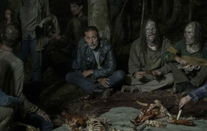 Jeffrey Dean Morgan as Negan in 'The Walking Dead'