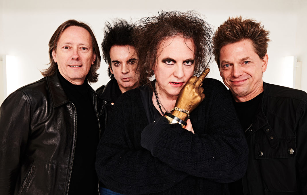 The Cure at the NME Awards 2020
