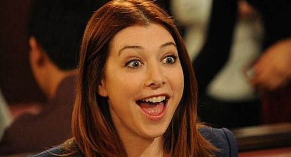 Alyson Hannigan as Lily in 'How I Met Your Mother'