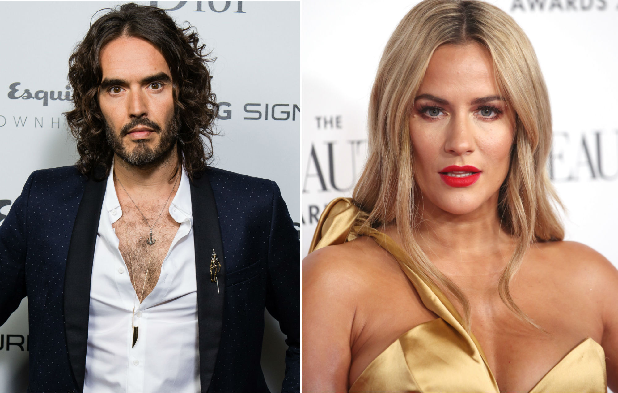 Russell Brand releases powerful statement on Caroline Flack's death