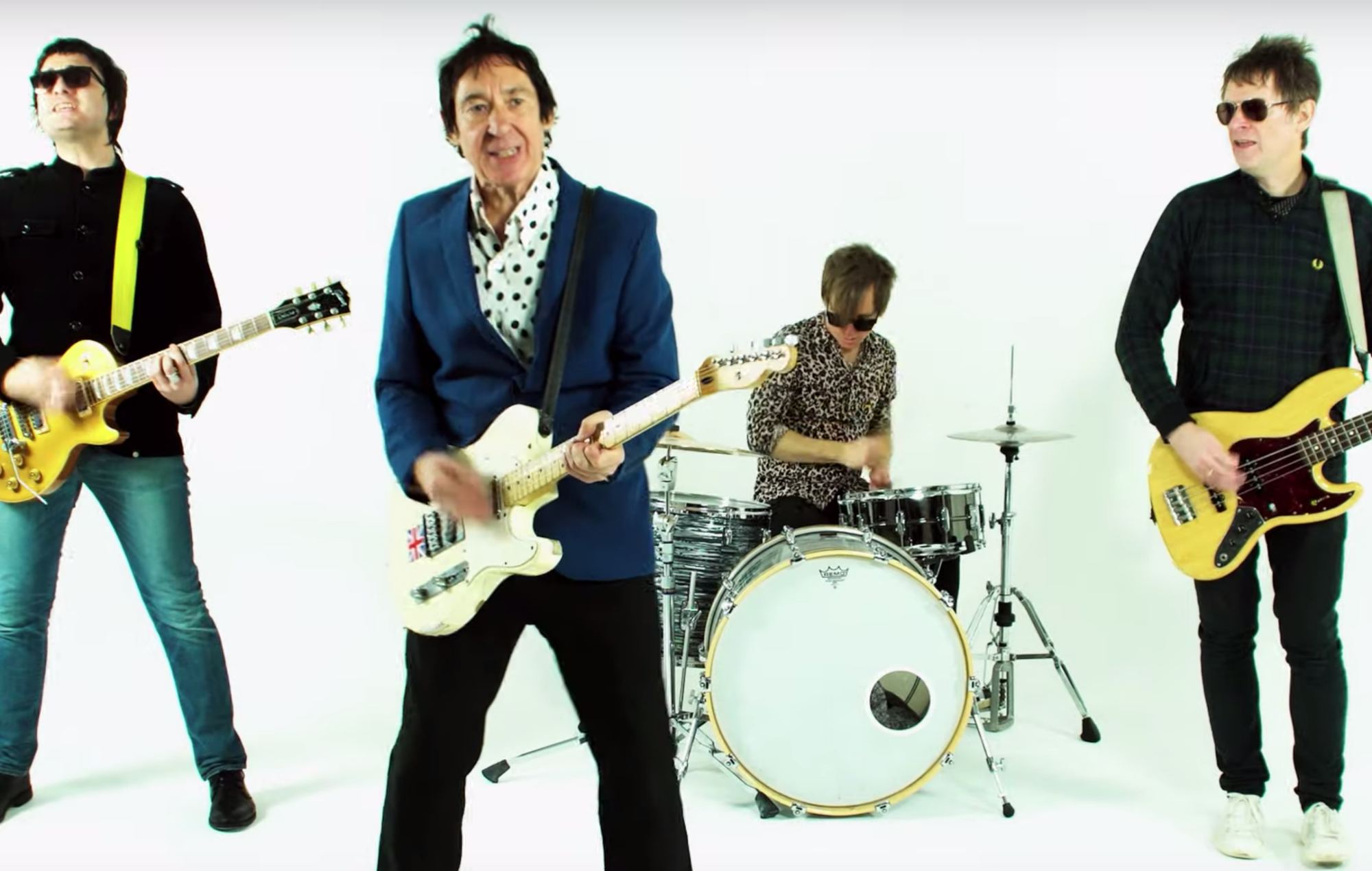 Buzzcocks have unveiled their first two new singles since since the death of frontman Pete Shelley