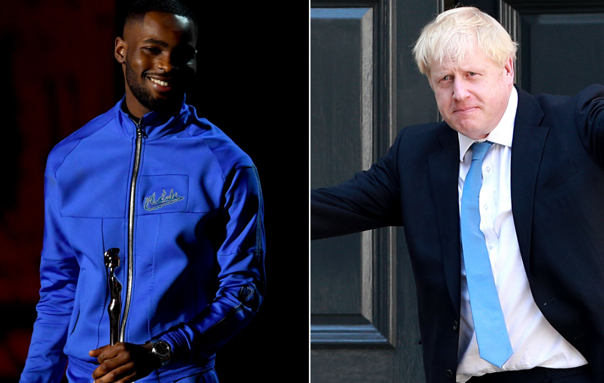 Dave shares Boris Johnson's Africa comments to back racism accusations