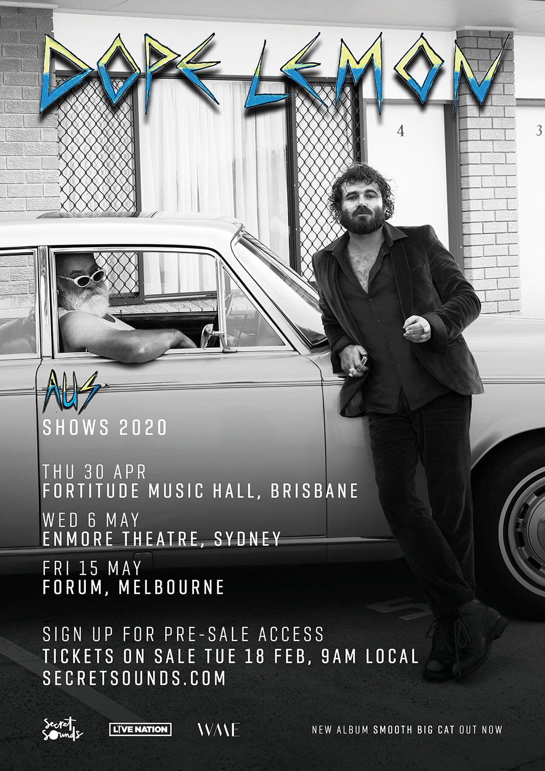 Dope Lemon Angus Stone Groovin The Moo 2020 sideshows