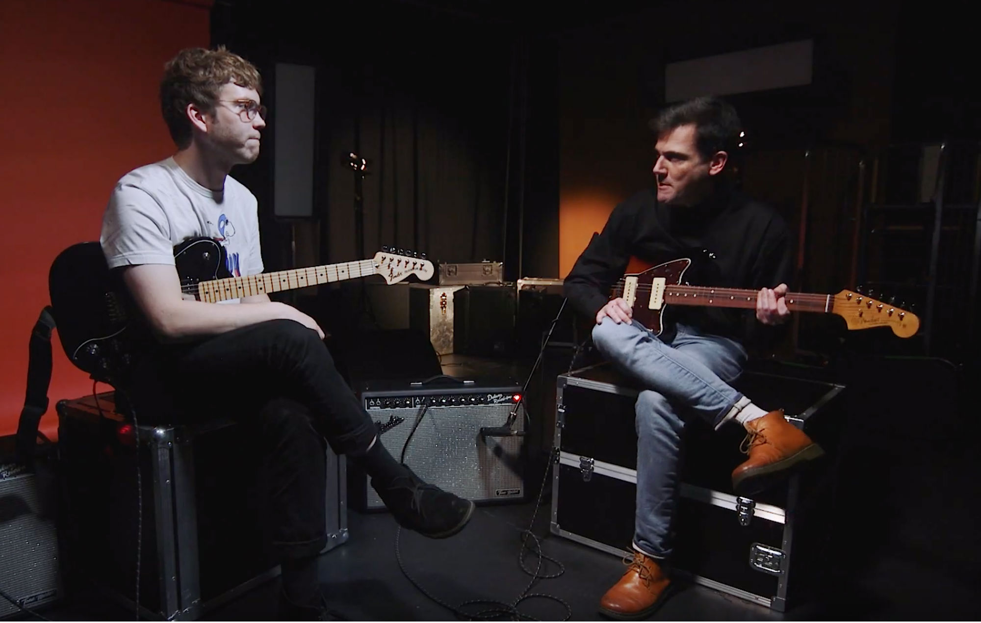 Check out Ollie from Heavy Lungs' guitar masterclass in association with Fender Play