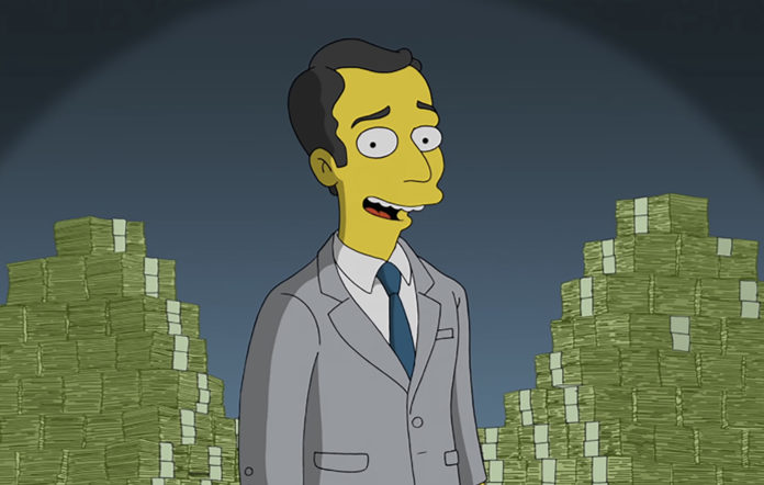 Jim Parsons The Simpsons
