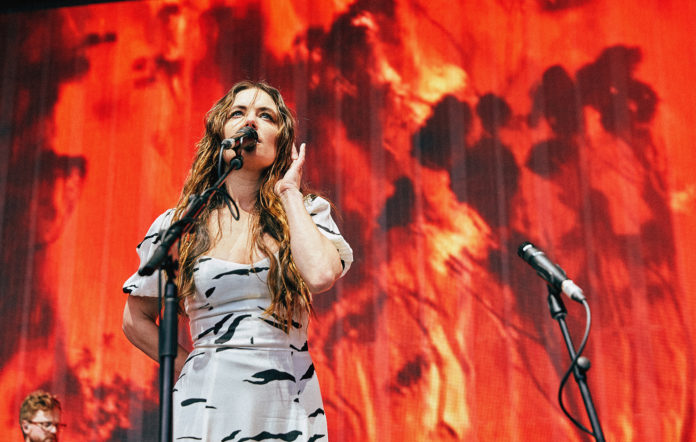 Julia Stone performs at Down To Earth concert 2020