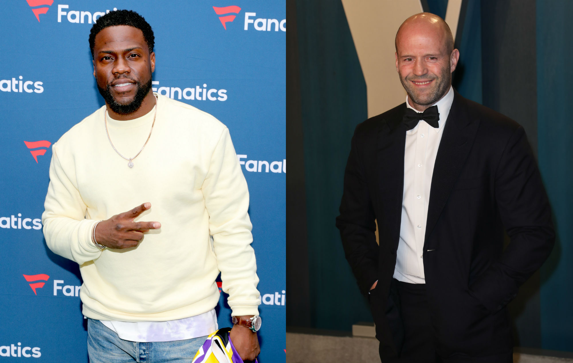 Kevin Hart says he and Jason Statham are going to co-star in 'The Man From Toronto'