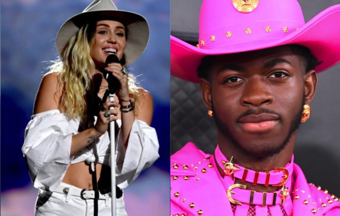 miley cyrus lil nas x 2020 getty images
