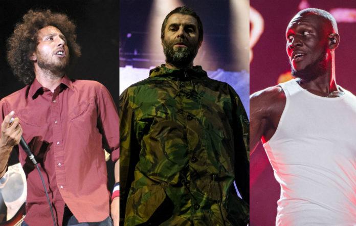 Rage Against The Machine / Liam Gallagher / Stormzy