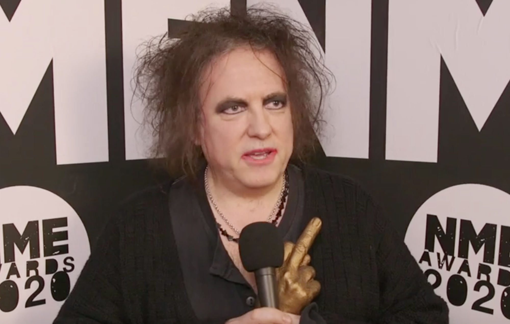 "The Cure's Robert Smith says new album will ""definitely"" arrive in 2020"
